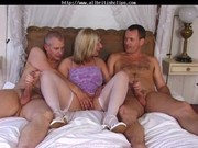 british milf josephine james in a female trio