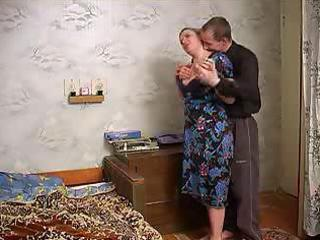 older breasty lady seduces neighbour lad with