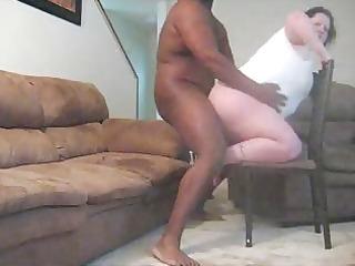 big beautiful woman gets drilled by ebony man