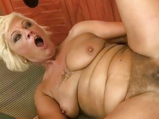 naughty granny enjoys good fucking