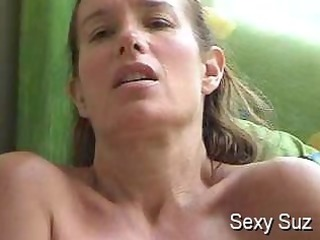 Sexy Suz Masturbating By the Window
