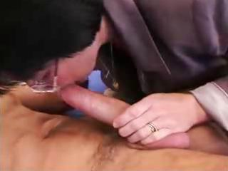 grandma wakes up juvenile chap for anal act