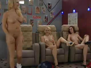a group of milfs are showing the younger women