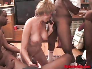 Tracy Licks.....the Black Cock Sucker