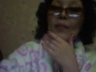 80 yo russian older mom livecam show
