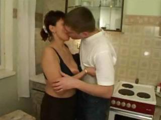 russian mom group-fucked by her sons allies