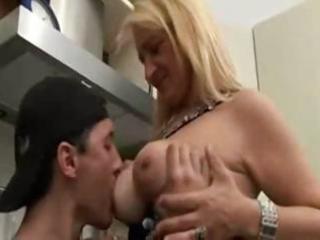 italian mommy and son