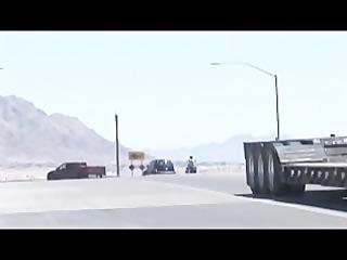 butch bear -- muscle bear truck stop part 5