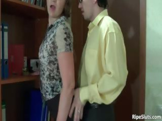 breasty mature sexually excited doxy acquires slit