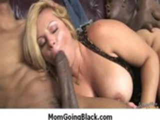 sexy mother i rides large dark monster cock for