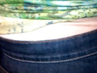 aged lady wear satin pants 8