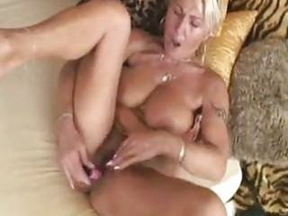 mature european blonde