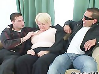 two buddies group sex drunk old whore