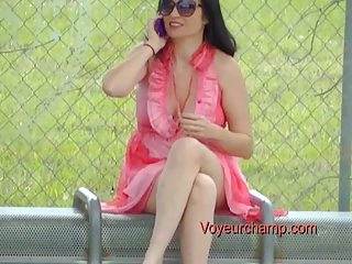 exhibitionist wife#91-bus stop flashing russian
