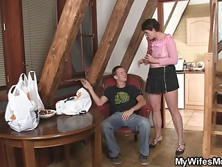 lewd mother in law needs penis