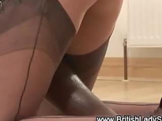 mature brit femdom interracial oral-service