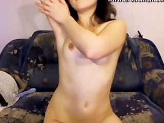cute russian juvenile mother widens pussy