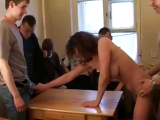 russian mother i stripping and fucking 10 boys!!!