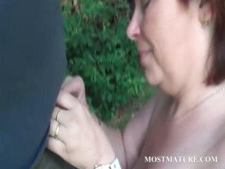 in nature mama blows hard weenie outdoor