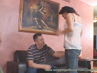 wife groans a lot whilst being screwed