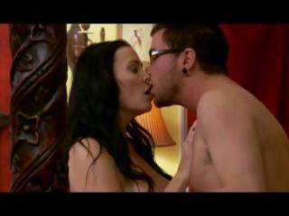 brunette mamma gets seduced by sons friend and