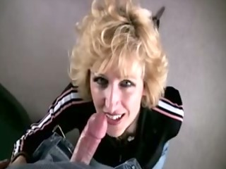 bitchy cougar ends overspread in cum