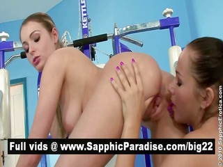 devin and zara fantastic lesbian babes licking