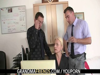 she swallows cocks for work