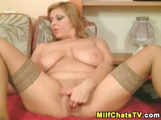 d like to fuck in stockings rubs her pussy part 3