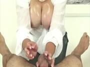 older british fetish floozy jerking hard pecker