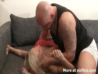 golden-haired d like to fuck brutally fisted by a