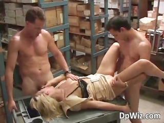 hot blond slut rides and sucks few