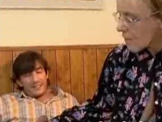 granny got her hairy old butt anal fucked