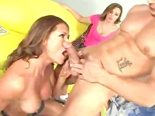 male stripper fucks the sexually excited family