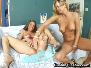aged with teen lesbo double fuck vibrator part3