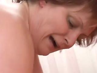 large beautiful woman aged sucks and fucks a big